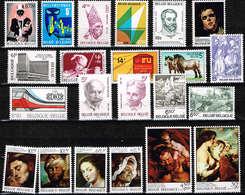 Lot Belg Selectie 1976 Postfris** - Ongebruikt