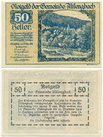 Altlengbach Bei Sankt Pölten, 1 Schein Notgeld 1920, Österreich 50 Heller - Oesterreich