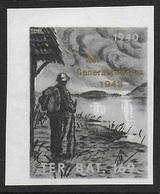 Suisse WWII Vignette Militaire Soldatenmarken TERRITORIAL-TRUPPEN / TROUPES Surimpr. 'Auf Generalswache 1943' Ovpt VF-NH - Vignettes