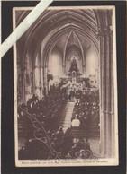 """Yvelines - Versailles - Messe Pontificale Au Petit Seminaire N-D Du Grandchamp """"sa Place 2ème Rang Où Il Y A Une Croix"""" - Versailles"""