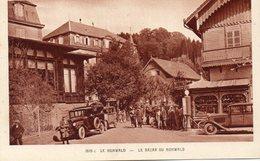 CPA - Le HOHWALD (67) - Aspect Du Bazar Et De La Station Service Avec Pompe à Essence à Colonne - Années 30 - France
