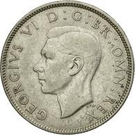 Monnaie, Grande-Bretagne, George VI, Florin, Two Shillings, 1943, TTB, Argent - 1902-1971 : Monnaies Post-Victoriennes