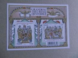 FRANCE 2015 F4943 * *   LES GRANDES HEURES DE L HISTORE DE FRANCE  CHARLEMAGNE - Blocchi & Foglietti