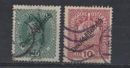 Autriche   1918 - 1919   MI /   234 - 246 - Used Stamps