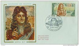 FDC 1970 - YT N°1656 - LOUIS XIV - VERSAILLES - 1970-1979