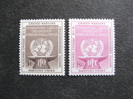 O.N.U. Siège De New-York: TB Paire N° 27 Et N°28, Neufs XX. - New York -  VN Hauptquartier