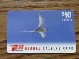 BERMUDA, USED PHONECARD. GLOBAL CALLING CARD - BIRD. Condition, See The Scans. - Bermuda