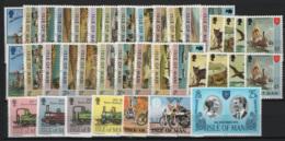 Man 1973/90 Collezione Completa / Complete Collection **/MNH VF - Isola Di Man