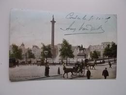 O.P.C. /  LONDON  /  TRAFALGAR SQUARE 1905 - Trafalgar Square