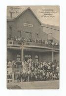 """Soldatenheim (Treppen-Aufgang U. Balkon) - """"Beverloo"""" (1916). - Leopoldsburg (Camp De Beverloo)"""