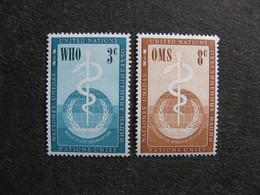 O.N.U. Siège De New-York: TB Paire N° 42 Et N°43, Neufs XX. - New York -  VN Hauptquartier