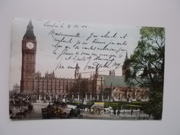 O.P.C. /  LONDON  /  PALACE YARD WESTMINSTER 1905 - Westminster Abbey