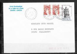 LOT 1810518 - N° 2177 SUR LETTRE DE VOLMUNSTER DU 29/12/81 - 1961-....