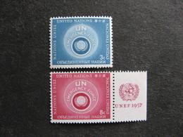 O.N.U. Siège De New-York: TB Paire N° 50 Et N°51, Neufs XX. - New York -  VN Hauptquartier