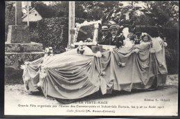 LA FERTE MACE 61 - Fête Union Des Commerçants Et Industriels Fertois Aout 1913 - Auto Fleurie - Otros Municipios
