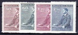 Boheme Et Moravie 1942 Mi  85-8 (Yv 73-6), (MNH)** - Unused Stamps