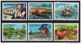 Guernesey - 1982 - Yvert N° 247 à 252 ** - Europa - Guernesey