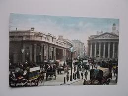 O.P.C. /  LONDON  /  BANK OF ENGLAND & ROYAL EXCHANGE 1906  Animation - Autres