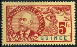 Guinée (1906) N 47 * (charniere) - Guinée Française (1892-1944)