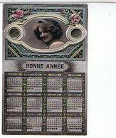 CARTE POSTALE CALENDRIER  BONNE ANNEE........OTO601 - Petit Format : 1901-20