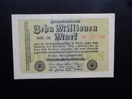 ALLEMAGNE : 10 MILLIONEN MARK   22.8.1923    P 106a    SUP+ * - [ 3] 1918-1933: Weimarrepubliek