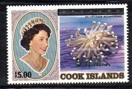 T801 - COOK 1986 , Servizio 5/3 Dollari Yvert N. 50 Nuovo ***  OHMS - Cook