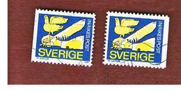 SVEZIA (SWEDEN) - SG 994 - 1979  REBATE STAMP (2 DIFFERENT PERFORATIONS) - USED° - Sweden