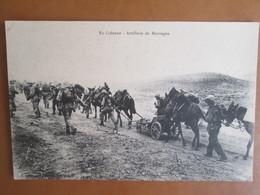 Colonne De Tadla . Artillerie De Montagne - Rabat