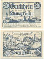 Altenfelden Bei Rohrbach, 1 Schein Notgeld 1920, Österreich 20 Heller - Oesterreich