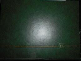 Albums Grand Format , Fond Noir 32 Pages Occasion Bon Etat General Marque Lindner - Albums à Bandes