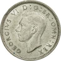 Monnaie, Grande-Bretagne, George VI, 6 Pence, 1944, SUP, Argent, KM:852 - 1902-1971 : Monnaies Post-Victoriennes