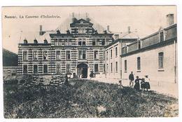 CPA : NAMUR - Caserne D' Infanterie - Marie-Henriette - Soldat Et Une Famille - Feldpost - Namur