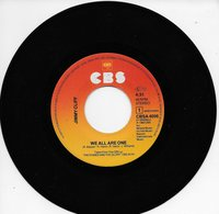 """Jimmy Cliff 45t. SP """"we All Are One"""" - Reggae"""