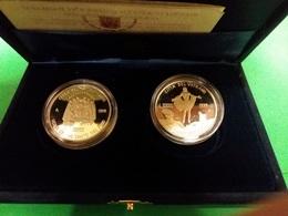 Vaticano 10000 + 10000 Lire 1999 Papa G. Paolo II Woytila  Vs. Anno Santo Pentecoste E Risurrezione - Vaticano