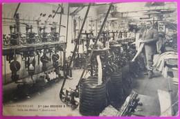 Cpa Troyes Usine Des Tauxelles Vve Léon BOISSEAU & Fils Salle Des Métiers Américains Carte Postale 10 Aube Très Rare - Troyes