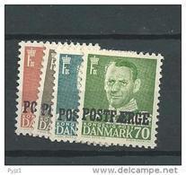 1956 MNH  Denemarken, Danmark,  Postfäere, Postfris - Parcel Post
