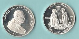 Vaticano 10000 Lire 1995 Natività Papa Giovanni Paolo II° Pope Woytila - Vaticano