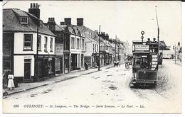 Cpa Guernsey / Saint Samson - Le Pont / Tramway . (Rare). - Guernsey