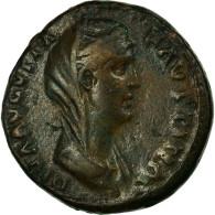 Monnaie, Faustine I, Dupondius, TTB, Bronze, Cohen:38 - 3. Les Antonins (96 à 192)