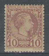 MONACO:  N°4 **      - Cote 120€+ - - Monaco