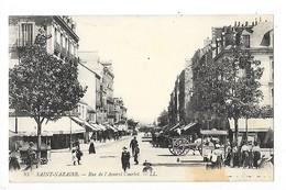 SAINT NAZAIRE  (cpa 44)  Rue De L'Amiral Courbet    -  L 1 - Saint Nazaire