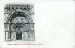 005658  Venezia - Ingresso Principale Della Chiesa Di San Marco - Venezia (Venedig)