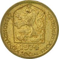 Monnaie, Tchécoslovaquie, 20 Haleru, 1974, TB+, Nickel-brass, KM:74 - Tchécoslovaquie
