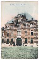 CPA : NAMUR - Caserne D' Infanterie ( Marie-Henriette ) - Drapeau Noir - Namur