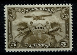Ref 1236 - 1928 Canada 5c Air Mint Stamp SG 274 - Cat £8+ - Unused Stamps