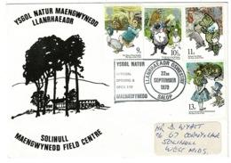 Ref 1236 - 1979 Cover - Solihull Maengwynedd Field Centre - Special Postmark - 1952-.... (Elizabeth II)