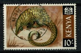 Ref 1236 - Kenya 1966 10/= Stamp Fine Used SG 34 - Pangolin Animal Theme - Kenya (1963-...)