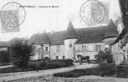 1266 - Cpa 16  Montbron -  Château De Menet - France