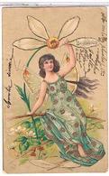 FEMME EFEUILLAGE 1915 BEAUCOUP        BE  1U450 - Donne