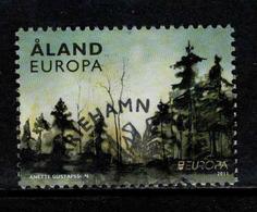 Aland, Yv 341 Jaar 2011, Europa Cept,  Gestempeld, Zie Scan - Aland